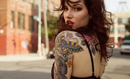 Get Upto 95% off on tattoo!